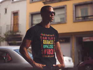 Black College Advanced Knowledge Unisex T-Shirt
