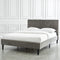 Raman Bed in Grey - sydneysfurniture