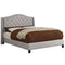 Lou Queen Platform Bed in Grey - sydneysfurniture
