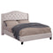 Lou Platform Bed in Ivory - sydneysfurniture