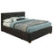 Emily Platform Bed W/Drawers in Charcoal - sydneysfurniture