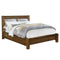 Dominic Platform Bed in Walnut - sydneysfurniture