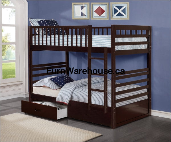 TWIN BUNK BED - Furniture Warehouse Brampton