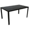 County Rectangular Dining Table in Black - sydneysfurniture