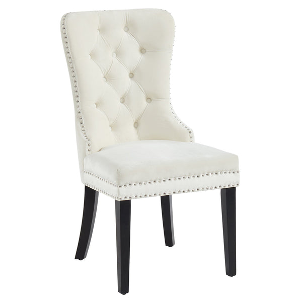 Roxy Side Chair, set of 2, in Ivory - sydneysfurniture