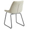 Vince Side Chair, set of 2, in Taupe - sydneysfurniture