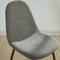 Avi Side Chair, set of 4, in Grey - sydneysfurniture