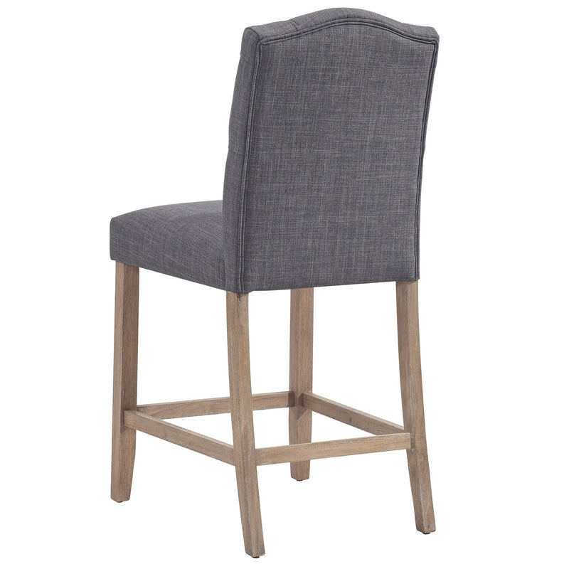 Lucius 26'' Counter Stool, set of 2, in Grey - sydneysfurniture