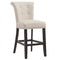 Velma 26'' Counter Stool, set of 2, in Beige with Coffee Legs - sydneysfurniture