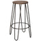 Reva 26'' Counter Stool, set of 4, in Black - sydneysfurniture