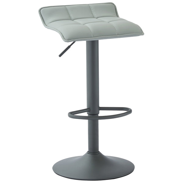 Met Air Lift Stool, set of 2, in Grey - sydneysfurniture