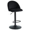 Star Air Lift Stool in Black - sydneysfurniture