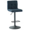 Orb Air Lift Stool, set of 2, in Blue-Grey - sydneysfurniture