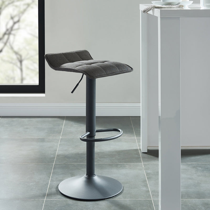 Pluto Air Lift Stool, set of 2, in Grey - sydneysfurniture