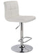 Mac Air Lift Stool, set of 2, in White - sydneysfurniture