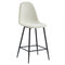 Tessa 26'' Counter Stool, set of 2, in Beige/Black Legs - sydneysfurniture
