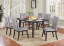 Ash 7pc Dining Set, Grey - sydneysfurniture