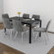 County/Marla 7pc Dining Set, Grey - sydneysfurniture