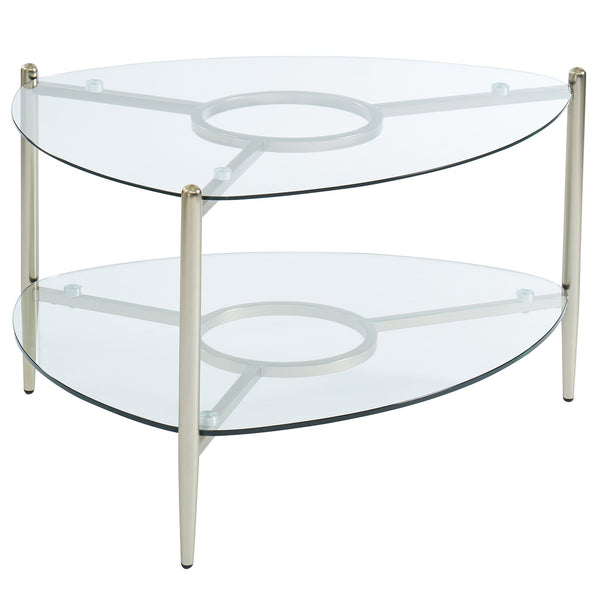 Sky Coffee Table in Champagne Gold - sydneysfurniture