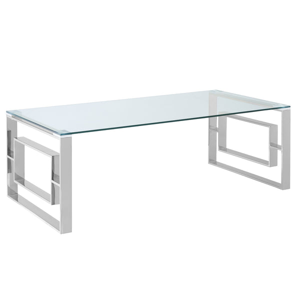 Rose Coffee Table in Silver - sydneysfurniture