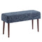 Pinto Bench in Blue Blend - sydneysfurniture