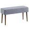 Pinto Bench in Grey Blend - sydneysfurniture