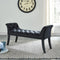 Vici Bench in Black - sydneysfurniture