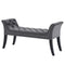 Vici Bench in Grey - sydneysfurniture