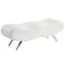 Stealth Bench in White - sydneysfurniture