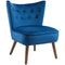 Ella Accent Chair in Blue - sydneysfurniture