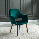 Mira Accent & Dining Chair in Green - sydneysfurniture