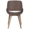 Rano Accent & Dining Chair in Brown - sydneysfurniture