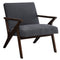 Basil Accent Chair in Grey - sydneysfurniture