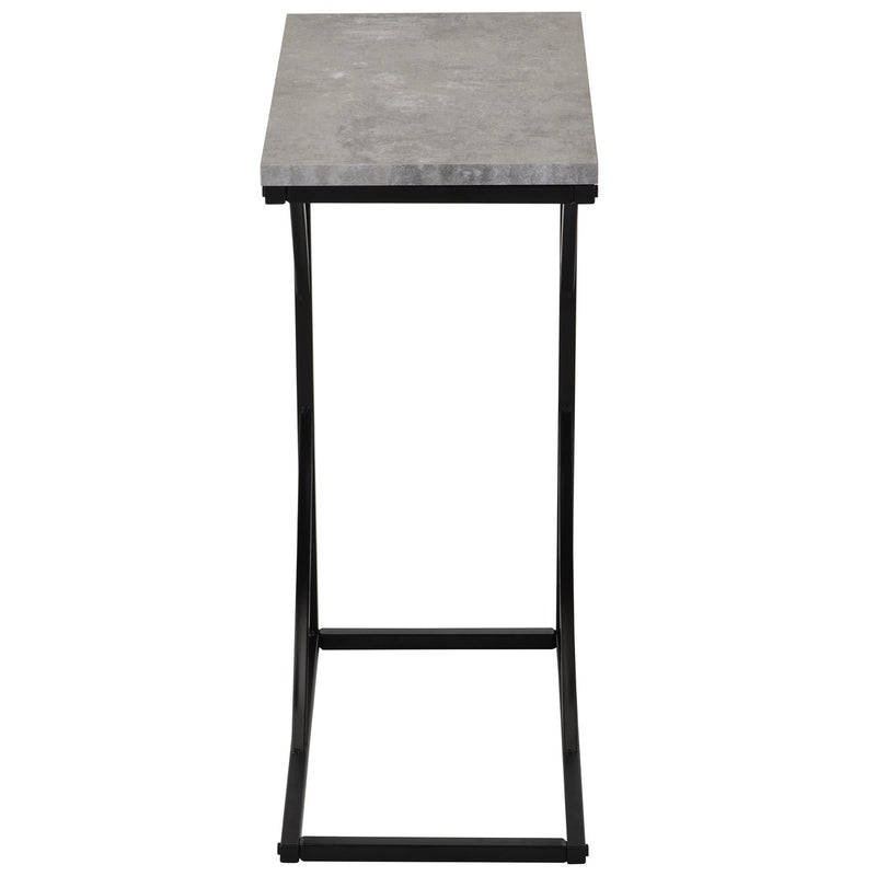 Tucker Accent Table in Cement - sydneysfurniture