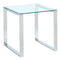 Zevon Accent Table in Silver - sydneysfurniture