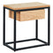 Lancelot Accent Table in Oak - Furniture Warehouse Brampton