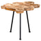 Live-edge Table Natural Wood Color - Furniture Warehouse Brampton