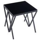 Cal Accent Table in Black - sydneysfurniture