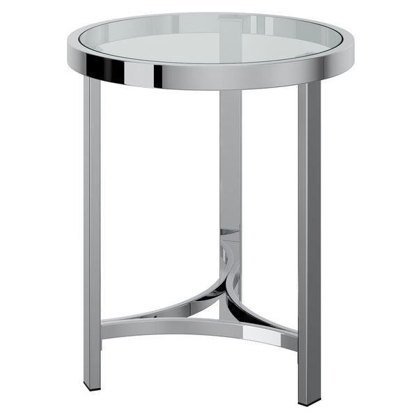 Star Accent Table in Chrome - sydneysfurniture