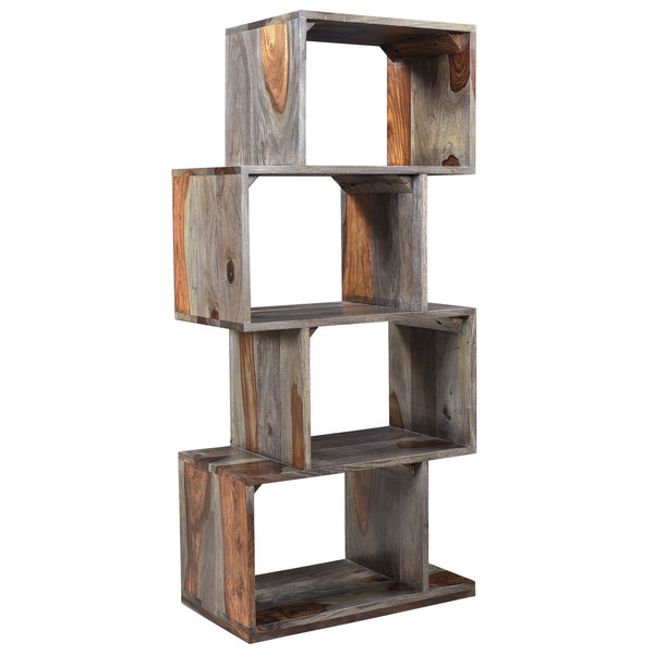 Iris Shelving Unit in Grey - sydneysfurniture