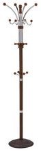 York Coat Rack in Walnut - sydneysfurniture