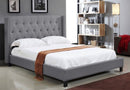 Tufted Wing Bed 5801 - Furniture Warehouse Brampton