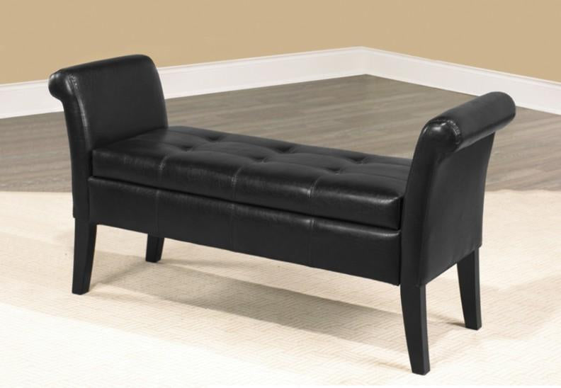 IF-668 Ottoman Available in 11 colours - Furniture Warehouse Brampton