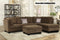 Julia Brown Reversible Sectional