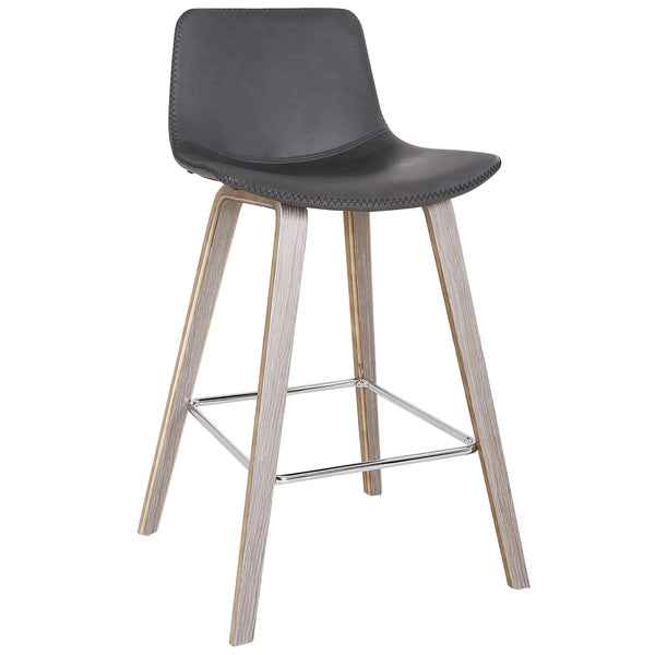 Dora 26'' Counter Stool, set of 2, in Charcoal - sydneysfurniture