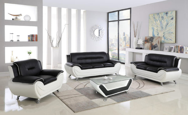 Speedy New Black White, Contemporary Design Set