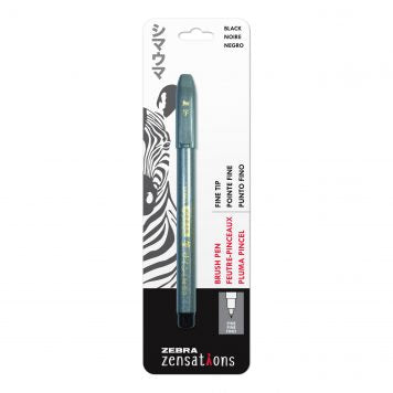 Zebra Zensations Brush Pen - Fine