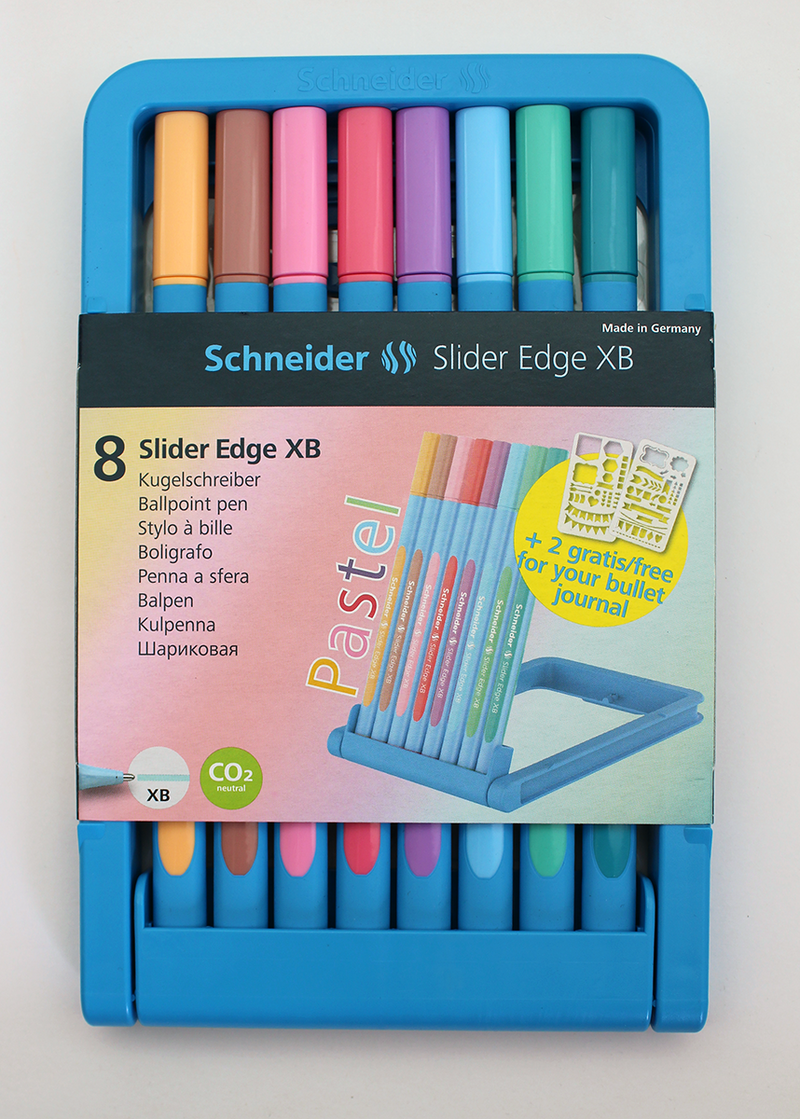 Schneider Slider Edge Pastel - 1.4mm - 8 Pack