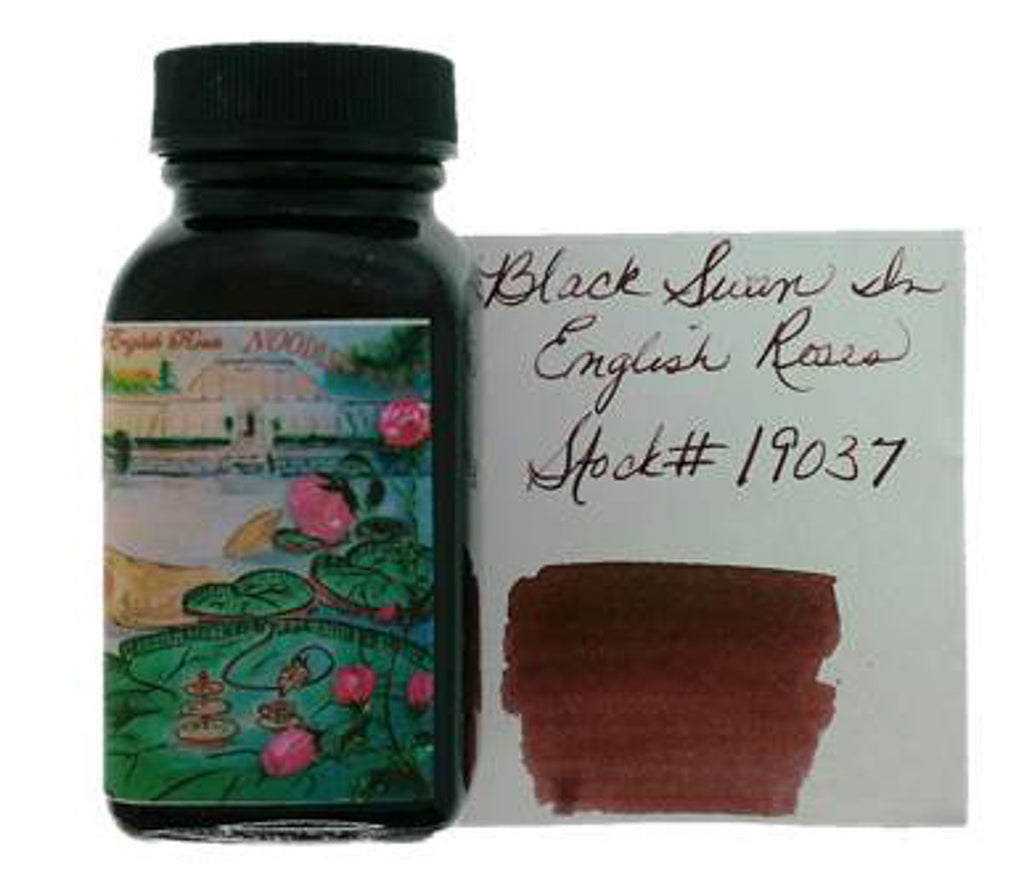 Noodler's Black Swan in English Roses - 3oz