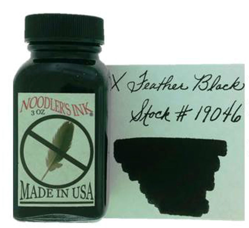 Noodler's X-Feather Black - 3oz